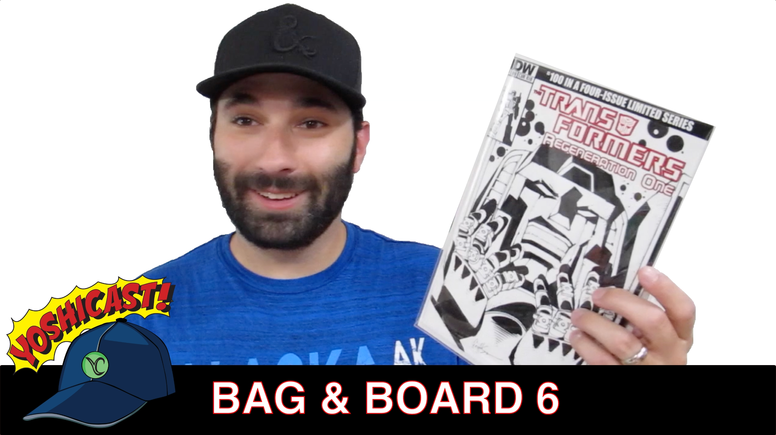 Bag & Board 6 | Comic Book Haul, Sketch Cover Commission And Everett Comics