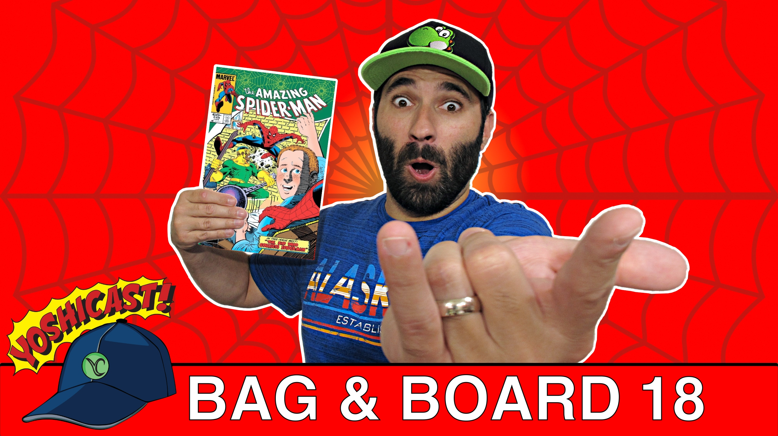 Bag & Board 18 | Amazing Spider-Man, Luke Cage, Thanos Legacy, Punisher