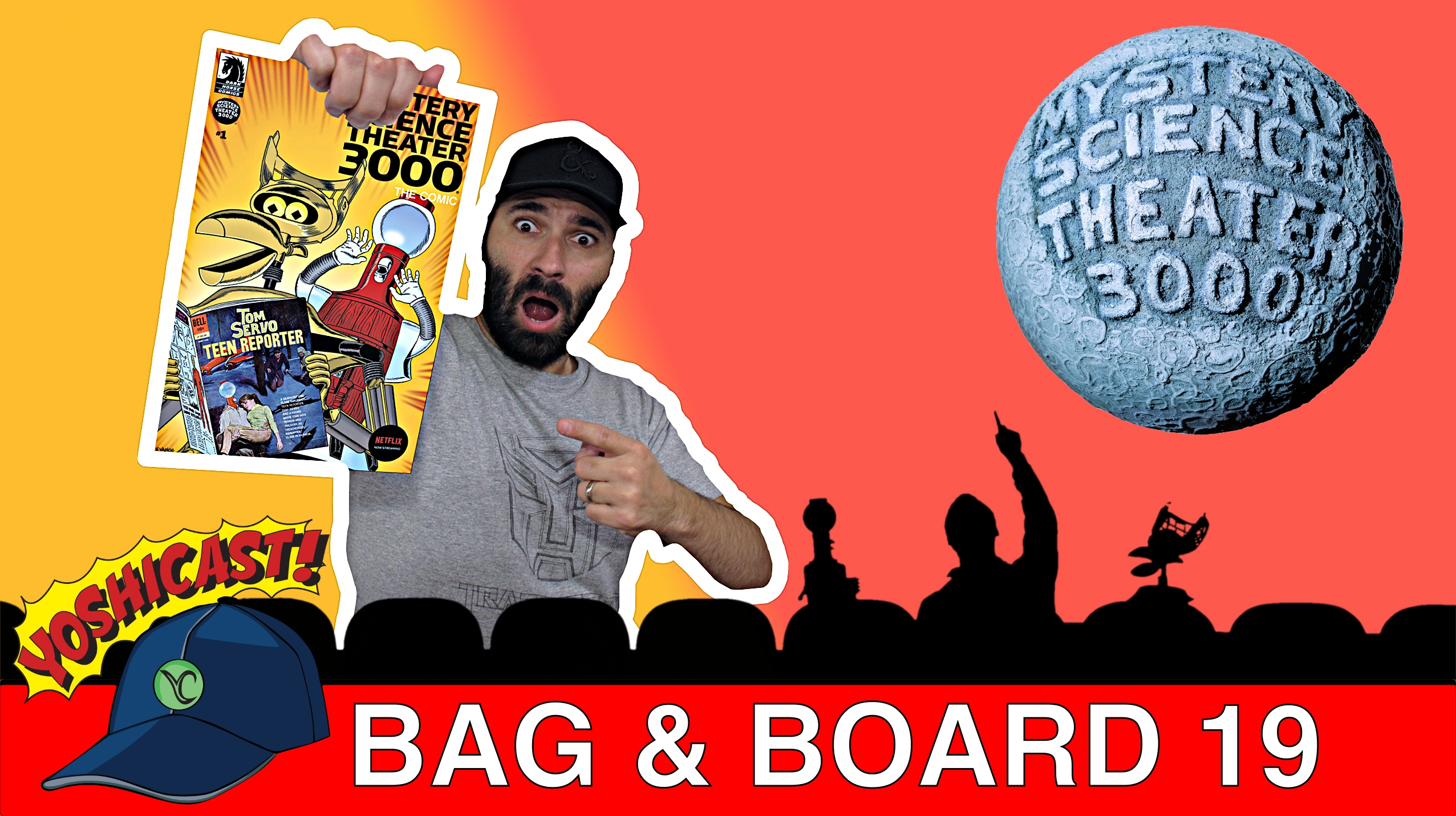 Bag & Board 19 | MST3K, Grimm Tales Of Terror: Halloween Special, Amazing Spider-Man