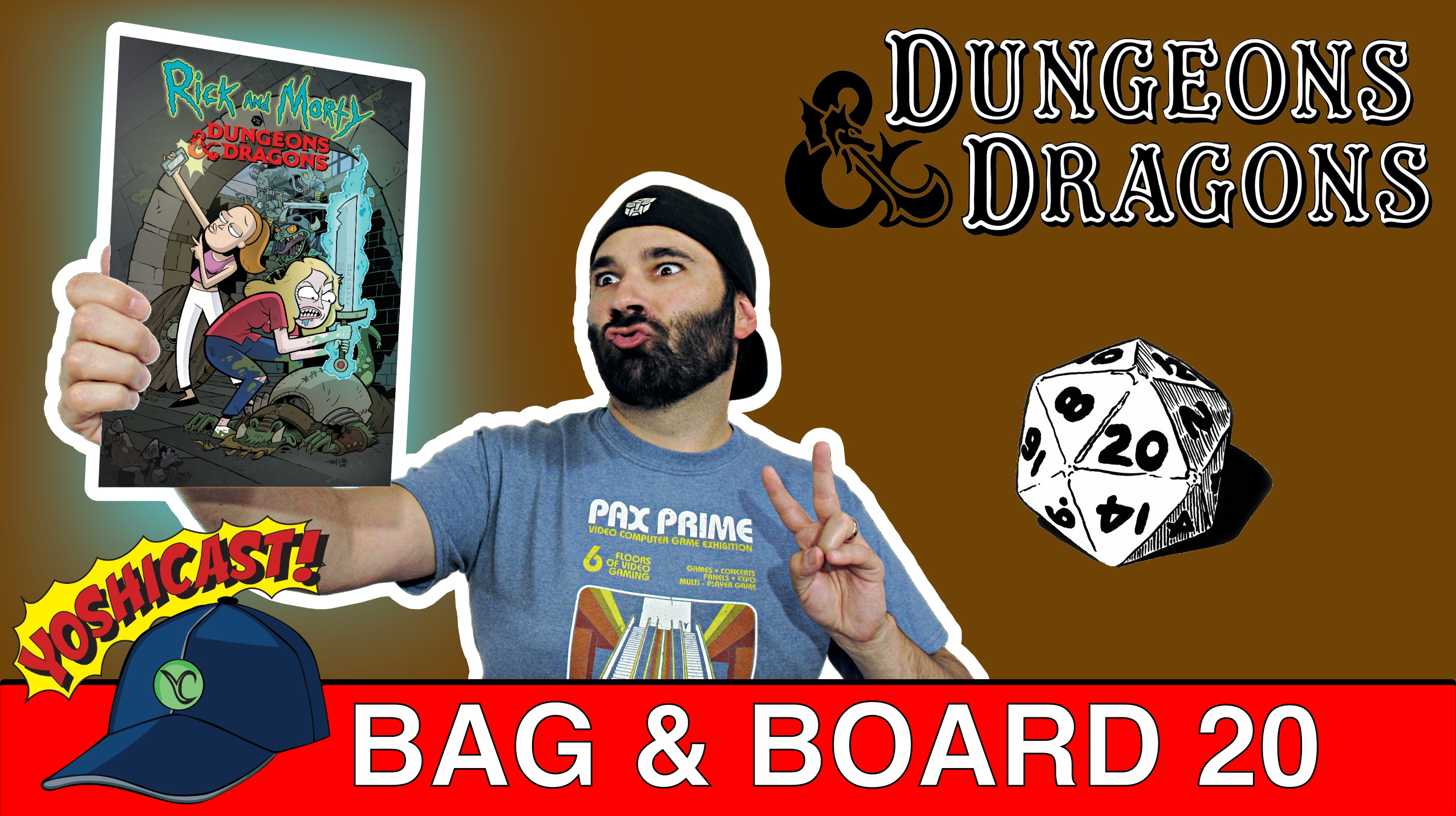 Bag & Board 20 | Rick And Morty Vs Dungeons & Dragons, Bone Parish, Heroes In Crisis