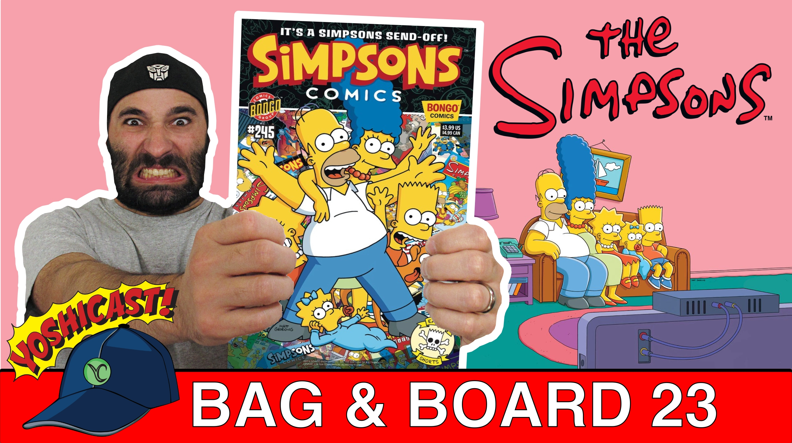 Bag & Board 23 | Bellingham Comic Con, The Simpsons, Robotech, Rainbow Brite
