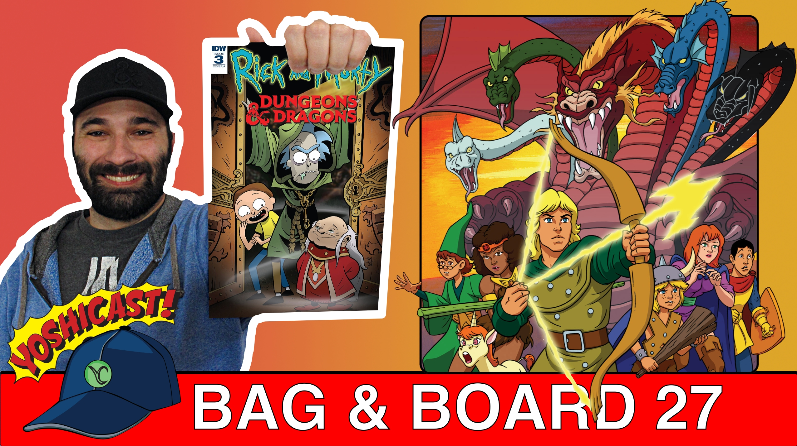 Bag & Board 27 | Rick And Morty Vs Dungeons & Dragons, Shazam, Martian Manhunter, Cosmic Ghost Rider