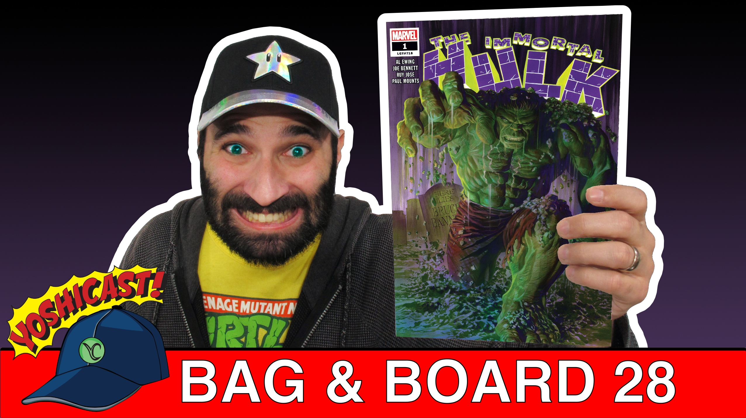 Bag & Board 28 | The Immortal Hulk, Sleepwalker, Supergirl, Flash, MST3K, And Ghost Rider